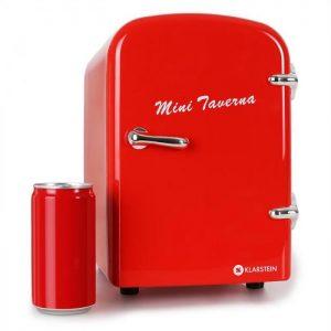 mini frigo rosso